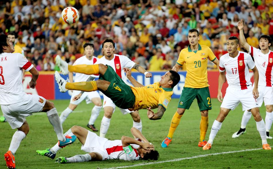 Кубок Азии-2014. Китай - Австралия 0:2. Без Кэхилла никак - изображение 1
