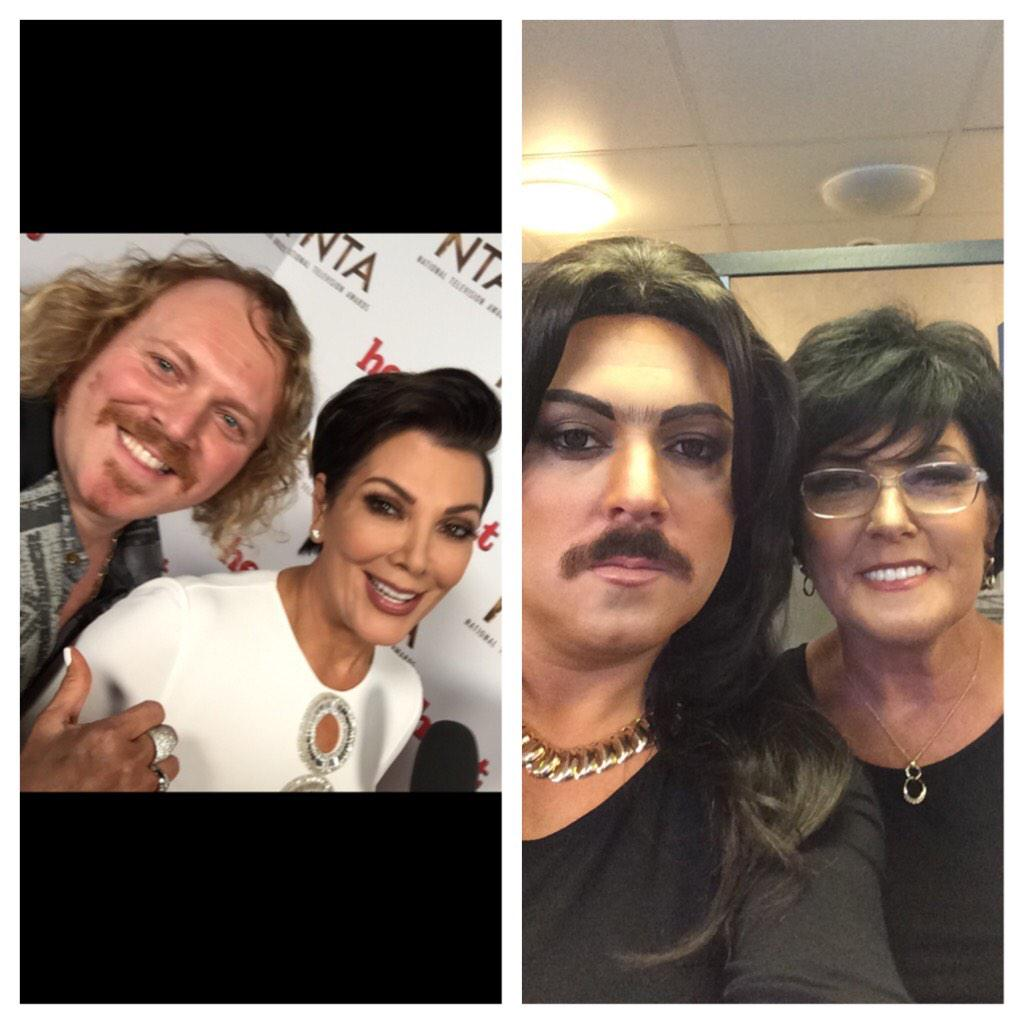 Me and @KrisJenner and me and me mum! #thekeithlemonsketchshow airs February! http://t.co/6DzIQ0825m