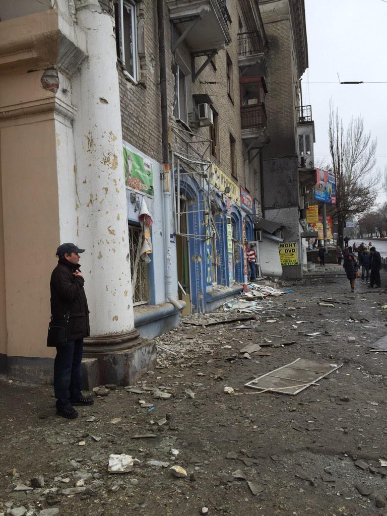 На остановке в Донецке погибли не менее семи человек, - ОБСЕ - Цензор.НЕТ 3411