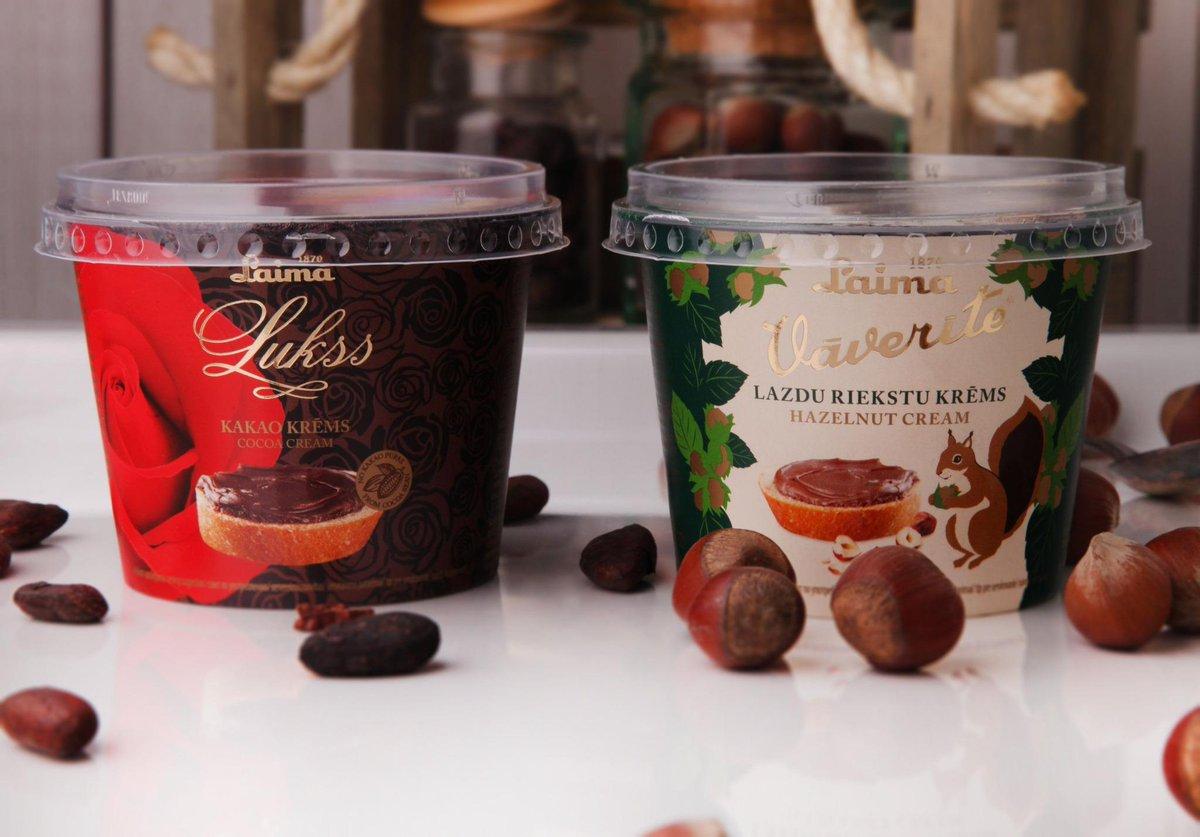Laima dodas cīņā ar Nutella: uzsāk kakao krēmu ražošanu http://t.co/HmpBaiOB3c http://t.co/Q0kZSpsOKM