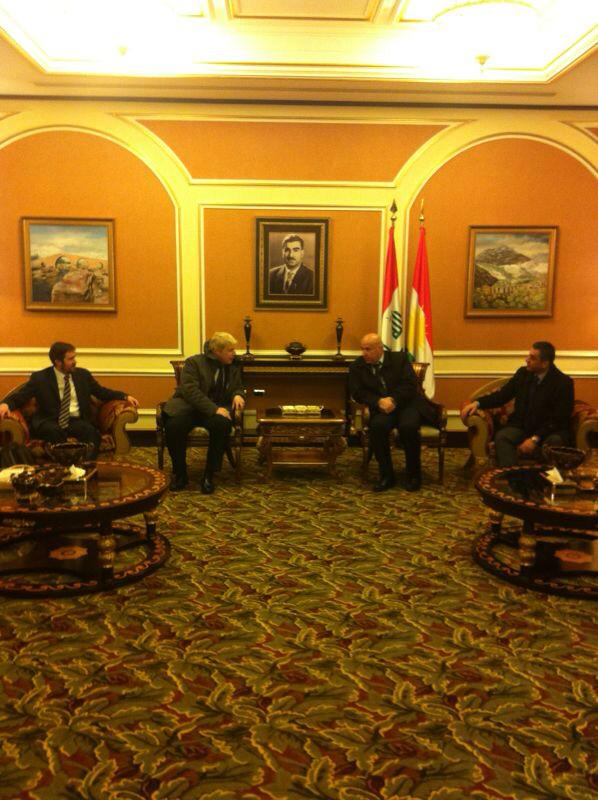 With the Governor of Erbil Nawzad Hadi and UK C-G Angus McKee at start of my trade mission today to #KurdistanRegion http://t.co/soEcooBQR0