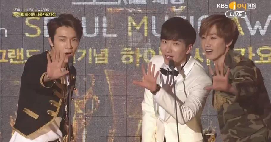 Super Junior Bonsang �d�l� Kazand� // 22.01.2015