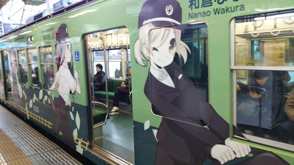 俺たちの京阪は滋賀県まで行くとこんな車両 http://t.co/ZI2wZWXiNm