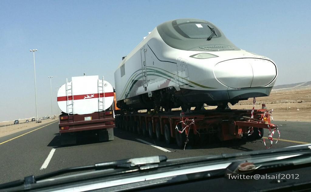 TRANSPORT   A MEDINA ET MECCA    TGV B79LGlvCEAAd7Vs