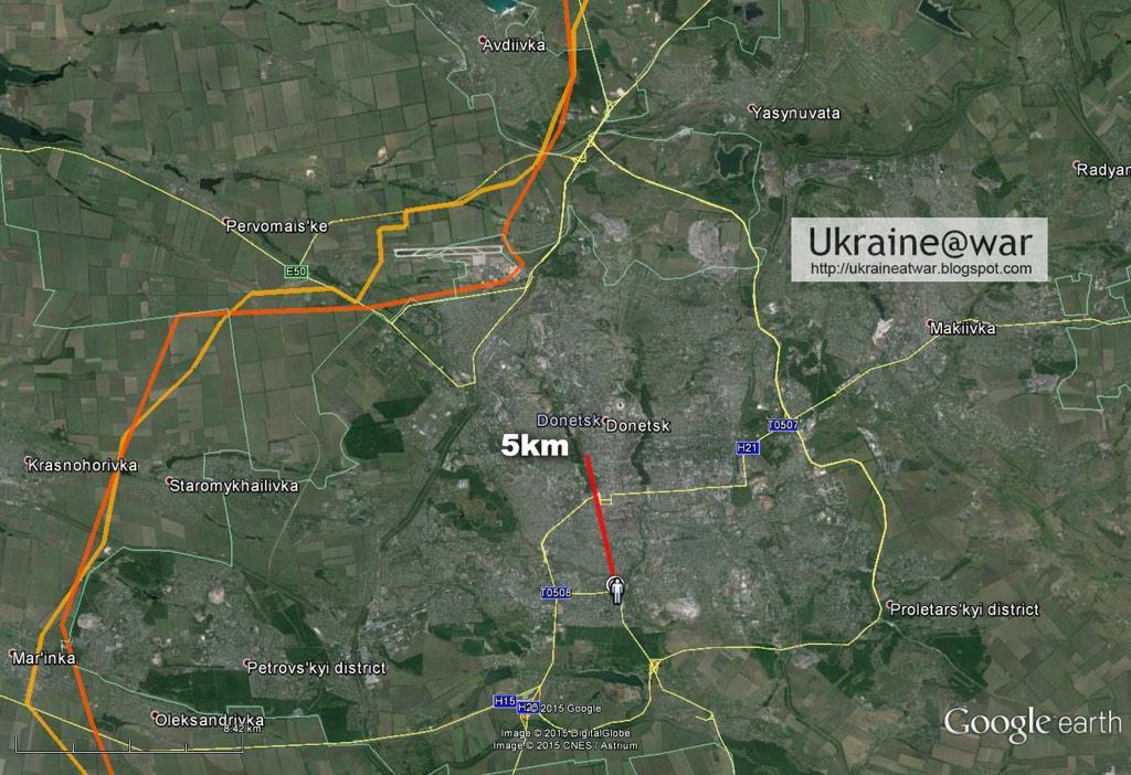 В Донецке снаряд попал в остановку: есть жертвы, российские СМИ сообщают о 13 погибших - Цензор.НЕТ 5317