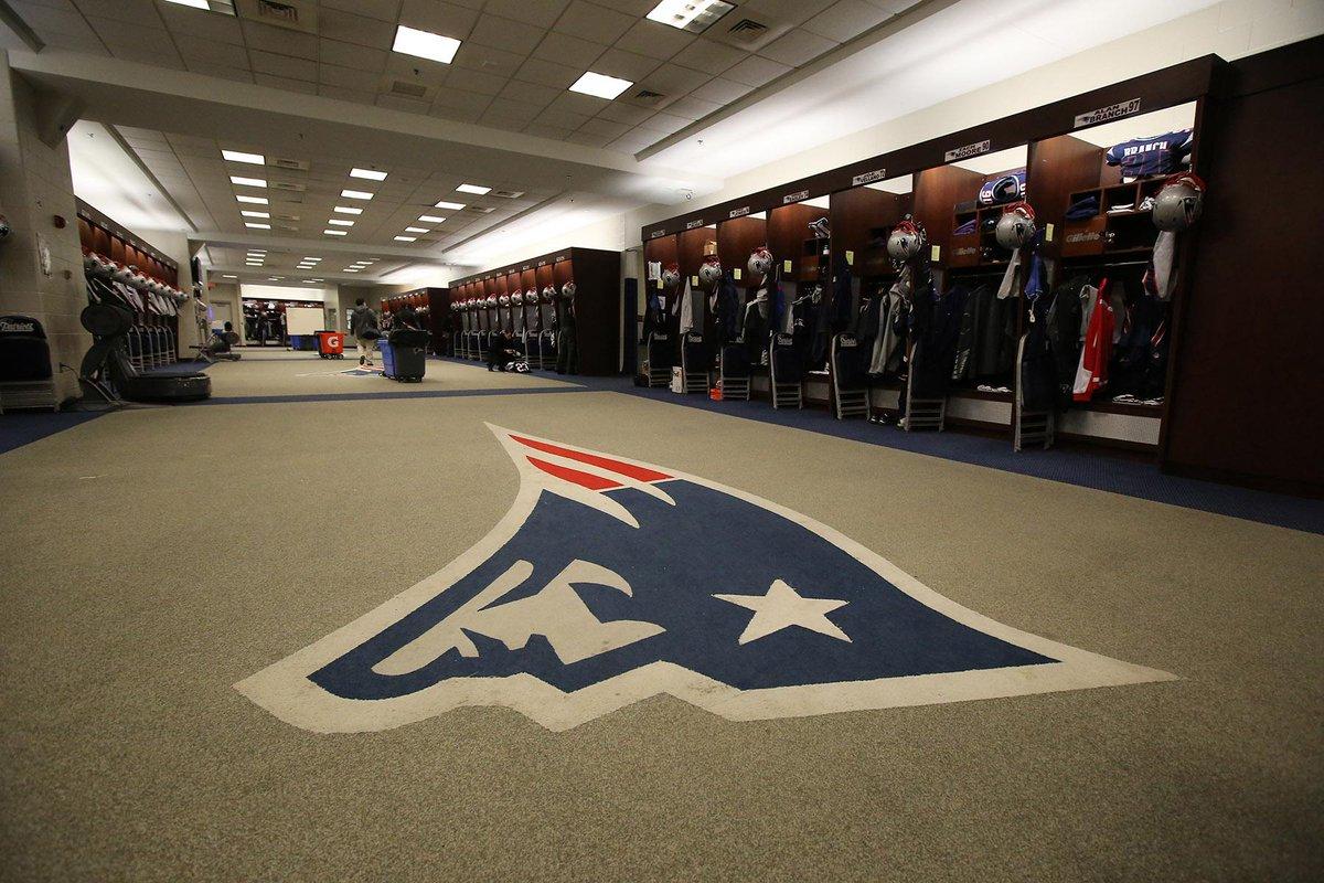 New England Patriots Dressing Room