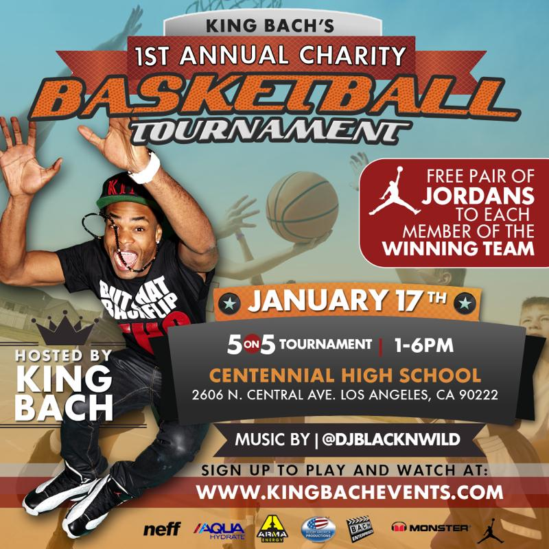 Doin' his thing to give back. Way to go @KingBach !!  January 17. 1-6pm. Los Angeles,CA. http://t.co/IRTHORMiYf