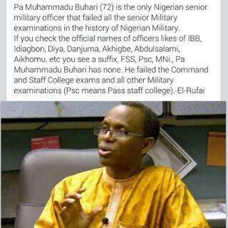 This was El Rufai on Buhari. I hope GMBites will retweet this too! http://t.co/6TyFq2gEQt