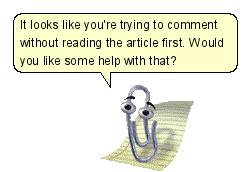 """@DanStapleton: Clippy, come back! The Internet needs you. http://t.co/usJEUYs99q"" cc @dens"