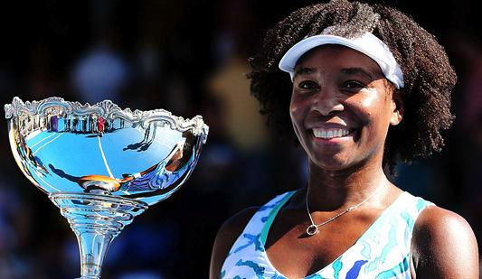 So beyond happy for @Venuseswilliams AND she rocked her #naturalhair all the way to the title. http://t.co/AChwvzaQKY