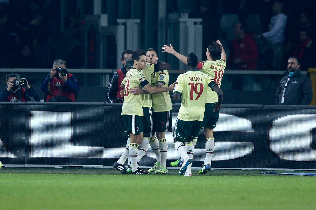 Risultato Torino Milan diretta gol live video filmato moviola