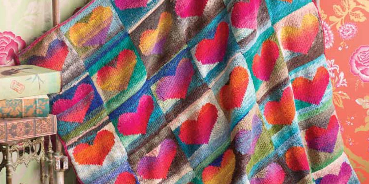 Webs Yarn Store On Twitter Join Noro Heart Blanket Kal W