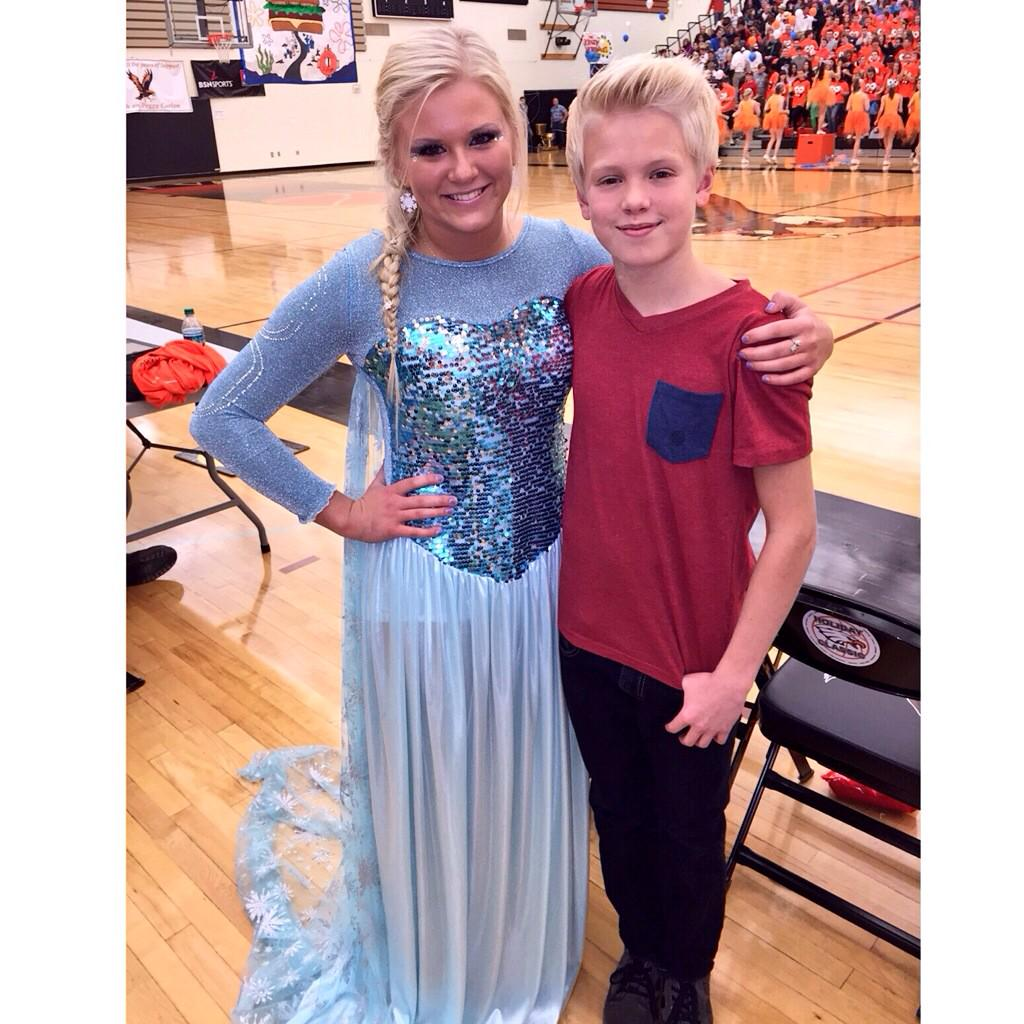 Who is carson lueders sister