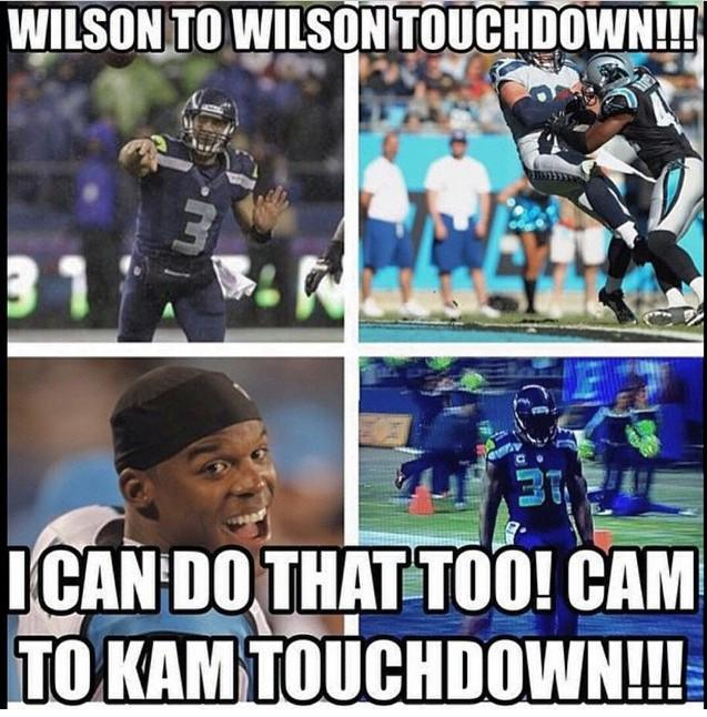 Too good not to share!! Found on Instagram. @Seahawks #Seahawks #CARvsSEA #panthers #seattle #12s #gohawks #12thman http://t.co/rSNe0b56ZZ