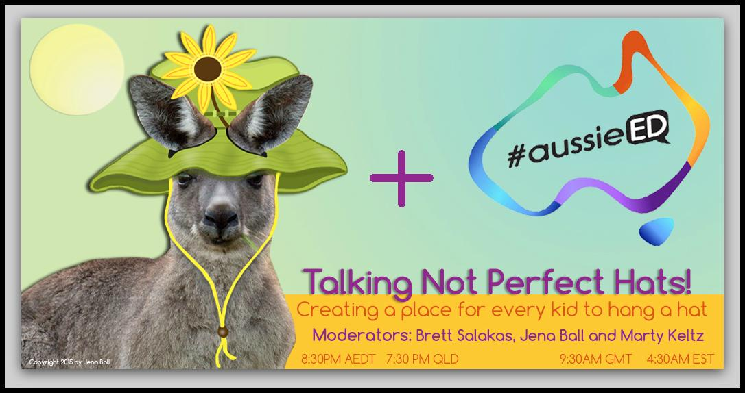 Next week #aussieED link with the #NotPerfectHatCLub - Don't forget to follow our guests @JenaiaMorane @martysnowpaw http://t.co/X2dWQNYiDs