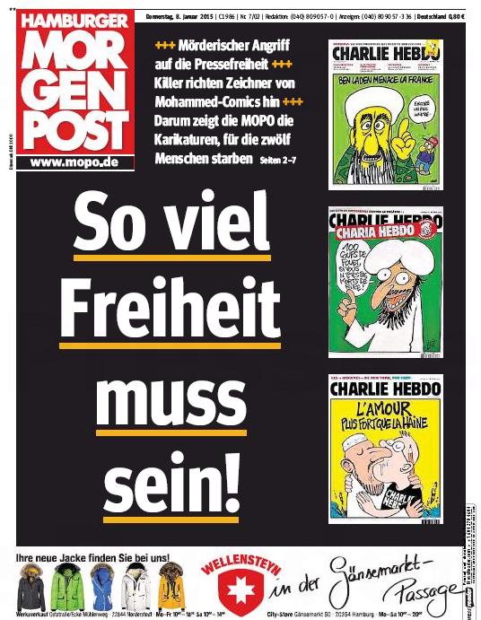 Les locaux du quotidien allemand Hamburger Morgenpost incendiés cette nuit http://t.co/r1eCJFyjNC A sa une jeudi : http://t.co/9ZFvbyyI0S