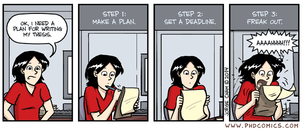 Planning phd thesis