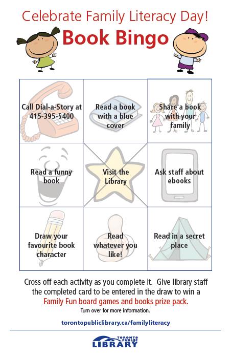 Toronto Public Library On Twitter Play Bookbingo In Celebration