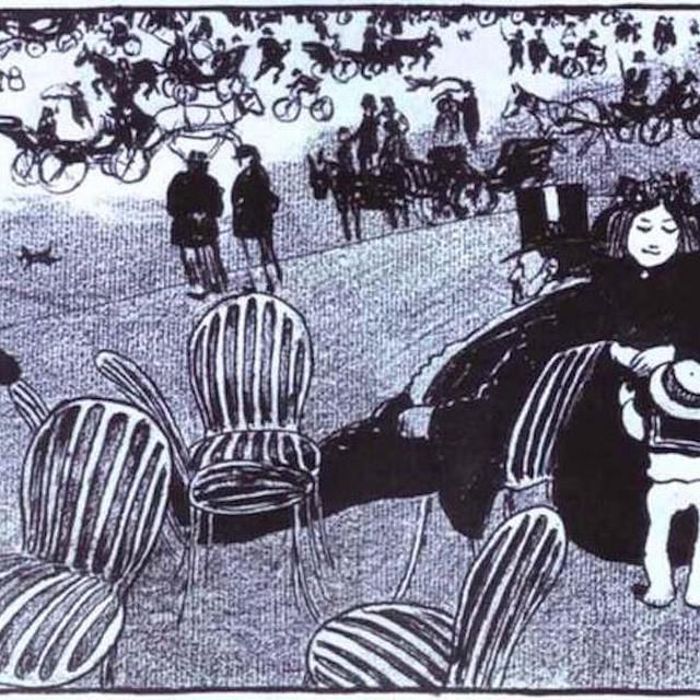 """""""The Beautiful Sunday"""" by Felix Vallotton via @dailyartapp - your daily dose of art 
