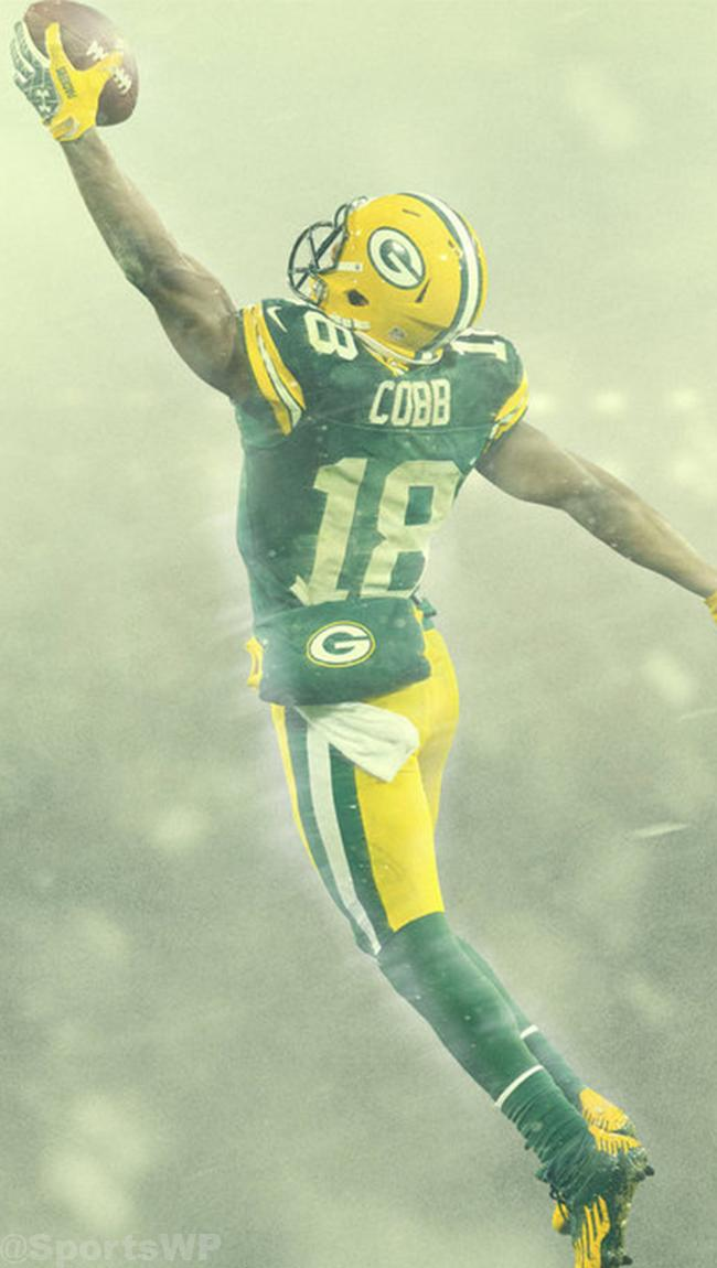"Sports Wallpapers 📲 on Twitter: ""Randall Cobb ... Randall Cobb Wallpaper Packers"