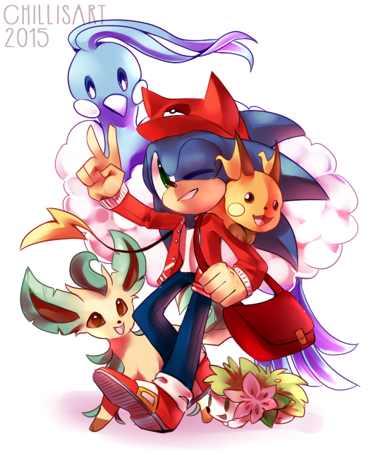 Chilli on twitter pokemon au pls - Shadow the hedgehog pokemon ...