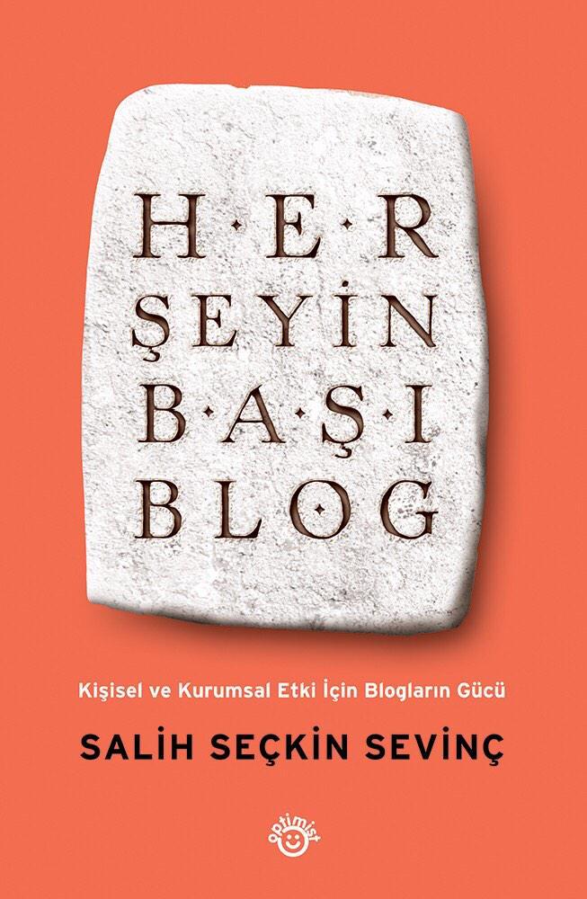 """İkinci kitabım """"Her Şeyin Başı Blog"""" yarından itibaren tüm kitapçılarda. Ön sipariş için http://t.co/kvKi7iKcsP http://t.co/oNUBXstT2k"""