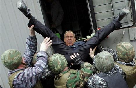 """Лавров намекнул, что террористов, расстрелявших журналистов в Париже, """"подготовил"""" сам Запад - Цензор.НЕТ 3963"""