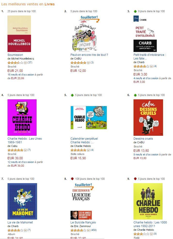 Amazon Attention Meilleures Ventes Livres Amazon Attention