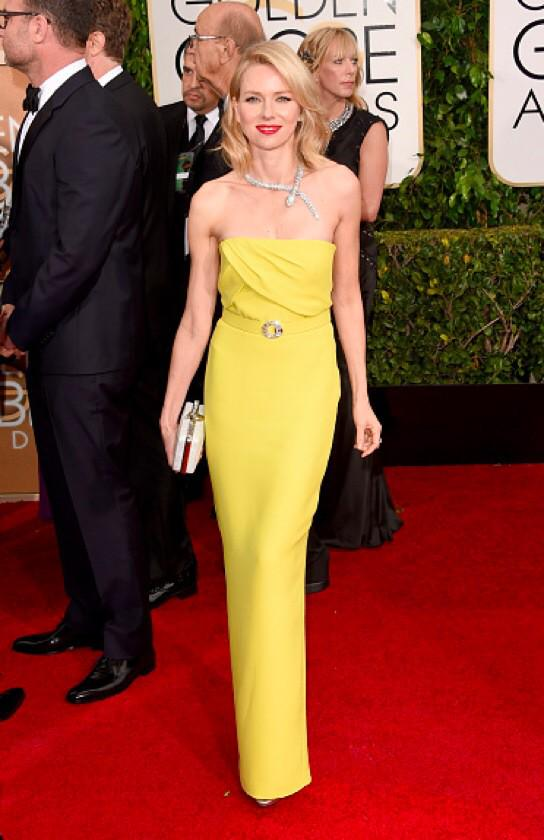 Not the necklace, though. RT @saks: We <3 Naomi Watts in @gucci #GoldenGlobes http://t.co/EVqDu1pshK http://t.co/LmBTxavWqW