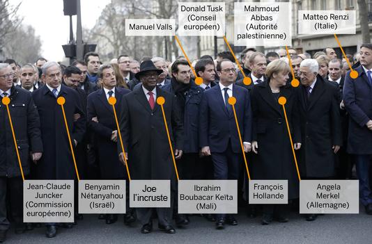 Identification des politiques au 1er rang de la #MarcheRepublicaine http://t.co/EwVTnrBaiS