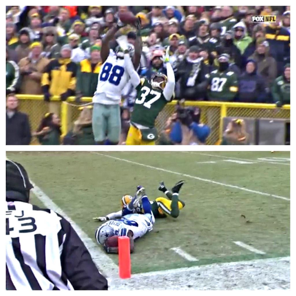 The greatest catch that never was... The game has become way too technical. #ThrowUpTheX It's still #Cowboys http://t.co/IWwD2taTpx
