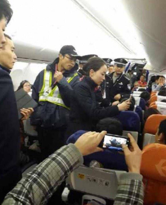Cancelan un vuelo por la famosa rabia aérea china
