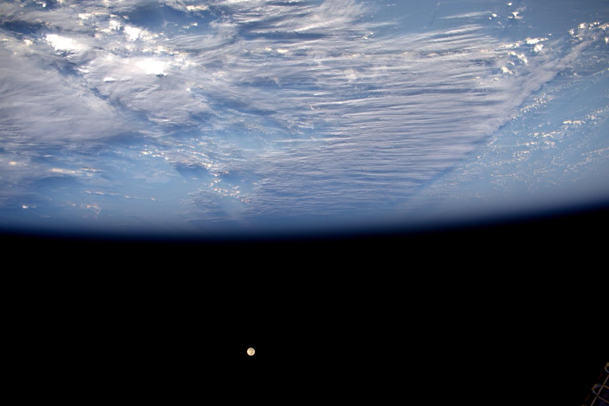 Good night from #space! #Dragon is getting closer, capture tomorrow. Buona notte! Domani cattura di Dragon. http://t.co/ZylcUF2m2c