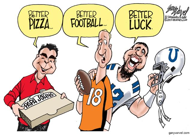 Better Luck? Yes. http://t.co/TVCdfKcP6P #Colts http://t.co/FikF97LuED