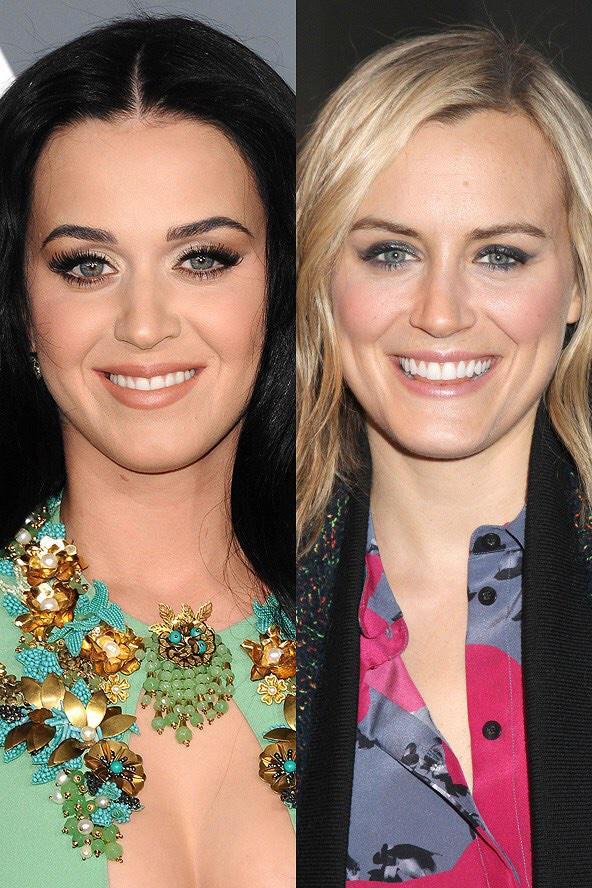 Katy Perry perde tudo, aí pinta o cabelo pra tentar outras premiações. Perde de novo pq ninguém engana o destino! http://t.co/zScE97I2On