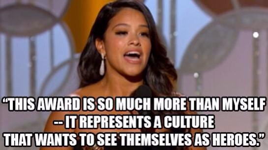 gina rodriguez golden globes speech