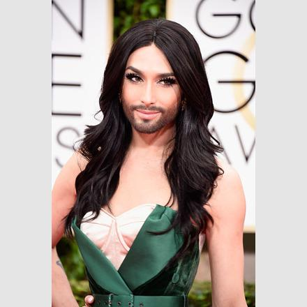 Eurovision Song Winner Conchita Wurst Beams After Making A Triumphan