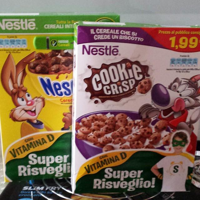 Acrilammide nei biscotti per bambini Nestlé