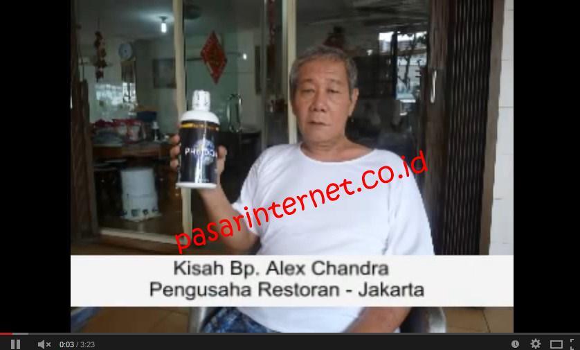Testimoni Phytochi – Bpk. Alex Chandra (Strokee)