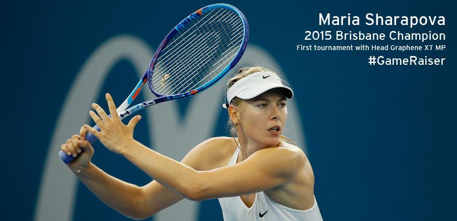 Maria Sharapova e Tomas Berdych lanciano la nuova racchetta da tennis HEAD Graphene XT Instinct