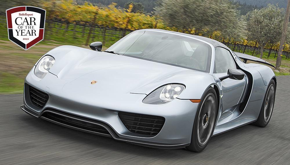 The @Porsche #918Spyder named @RobbReport's 2015 Car of the Year! @NAIASDetroit #RRCOTY2015 >> http://t.co/VAUt748DFR http://t.co/YgXpdfkqYU