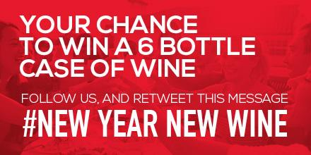 WIN a 6 bottle case of wine to avoid the January Blues. Make sure you follow our page & RT this post #NewYearNewWine http://t.co/12o6vYLBlC