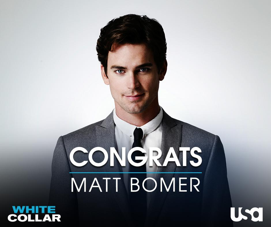 Cheers to Matt Bomer on winning the Golden Globe for Best Supporting Actor in The Normal Heart! http://t.co/KfWWMO7kbL