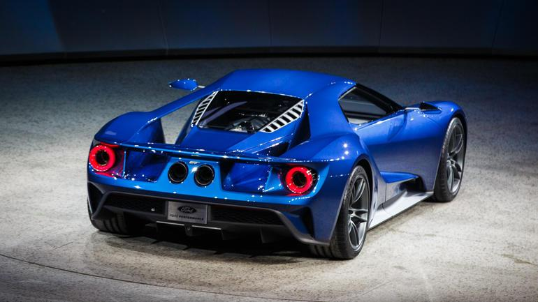 Jeff Bown On Twitter Cnet The Back Of The New Ford Gt Looks Like A Pig Out Of Angrybirds