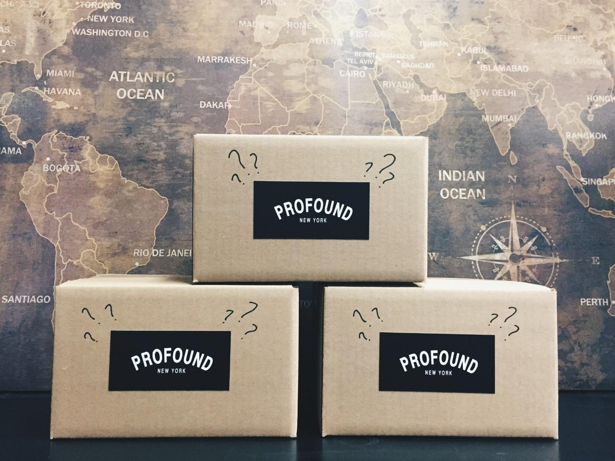 We're giving away 3 mystery boxes ($100 value). Each will be signed by the @profoundco Team. FOLLOW & RT to enter. http://t.co/8SoxsgOtn1