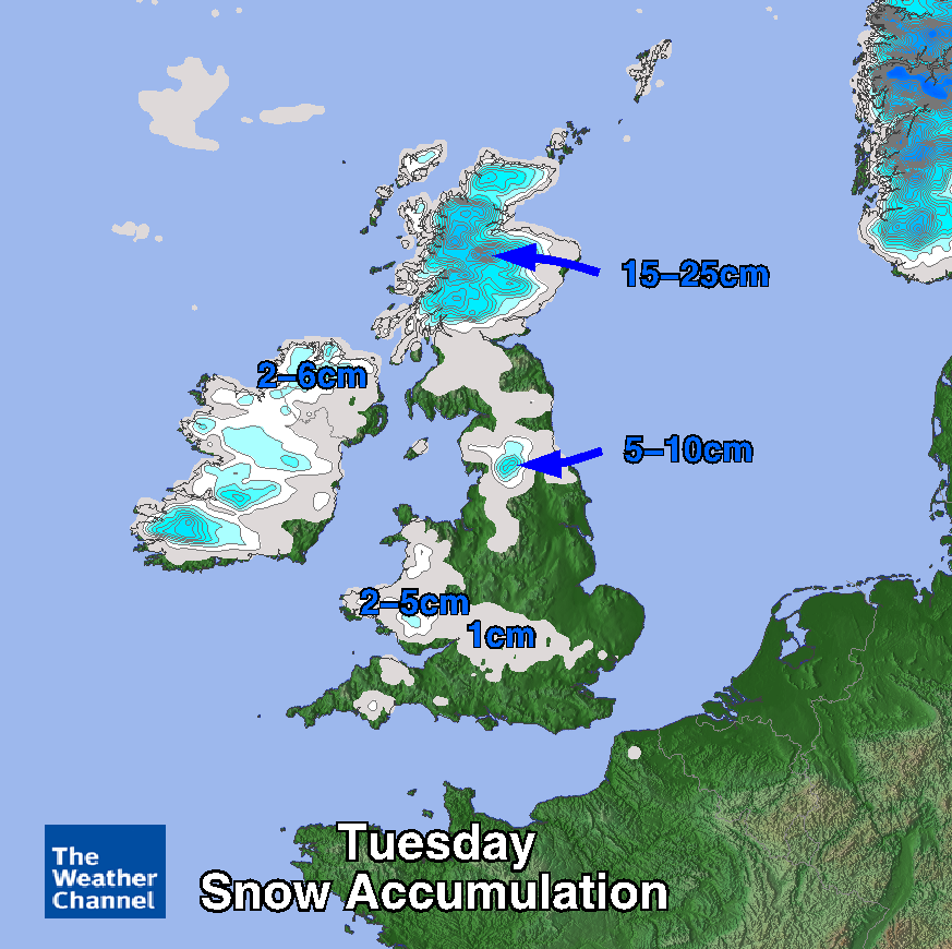 Tomorrow looks cold and wintry - risk of snow and ice. http://t.co/EdVxyqCNmu On your phone? http://t.co/Gr893tFPFP http://t.co/HcFMSsdI7W