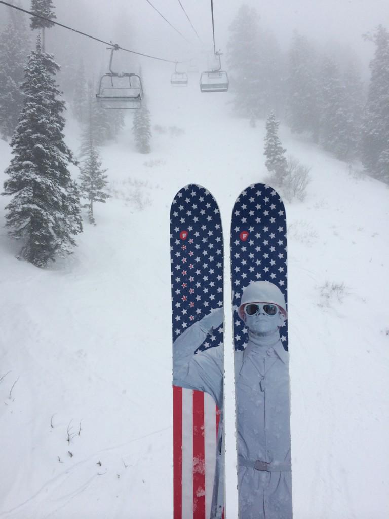 Captain Powder says embrace global chilling. @snowbasinresort @PowderMagazine http://t.co/KGddbSWQzP