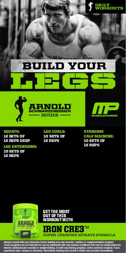 Ironcre3 hashtag on twitter one more week of arnold workouts build your legs powered by ironcre3 picitterary2cxnmwn malvernweather Image collections