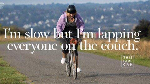 Such a powerful advert on tonight 7.45 in middle of corrie #thisgirlcan @Sport_England http://t.co/93gOeGUXaA