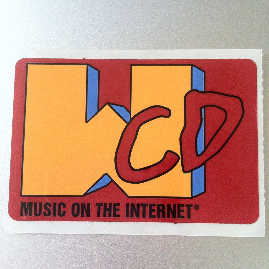 CD Sticker